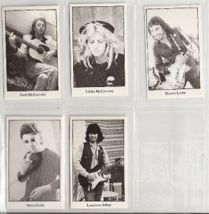 McCartney, Paul & Wings - Official Wings 'Back To The Egg' Trading Cards