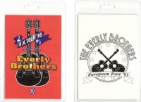 Everly Brothers, The - 2 x Tour Passes 1993 and 1995