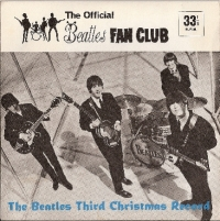 Beatles, The - Fan Club Flexi 1965, The Beatles Third Christmas Record, 1965 original Fan Club Only issue