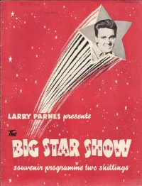 Fury, Billy, Marty Wilde, Joe Brown, 1963 Big Star Show Concert Progamme