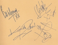 Rolling Stones, The - very nice part set of autographs from 1965, including Brain Jones