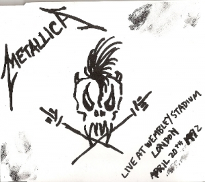 Metallica - Nothing Else Matters, Live at Wembley, London 1992, very rare CD release from 1992, rare NWOBHM