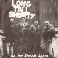 "Long Tall Shorty - On The Streets Again/ I Fought The Law/ Promises [Diamond Records DIA 002] 1984, original UK issue, 7"" single, c/w picture sleeve"