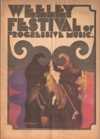 Weeley Festival Of Progressive Music 1971 - Various Artists ... Original concert programme [in a newspaper type form] featuring T Rex & The Faces