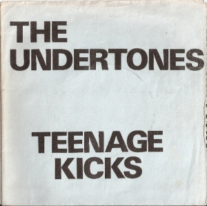 "Undertones, The - Teenage Kicks 7"" EP - Teenage Kicks/ Smarter Than You/ True Confessions/ Emergency Cases, 1978 original 1st UK pressing c/w wrap around fold out paper sleeve, [Good Vibrations Records Got 4], rare 1st pressing"