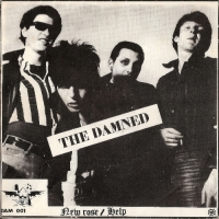 "Damned, The - New Rose/ Help, original 1977 French pressed 7"" single, [Skydog Records DAM 001]"