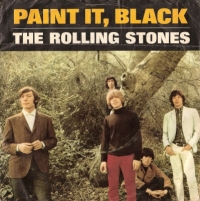"Rolling Stones, The - Paint It Black/ Long Long While [UK 7"" single export issue sleeve]"