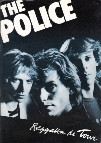 Police, The - Reggatta de Tour, UK Tour Programme 1979 at Hammersmith Odeon, London c/w ticket stub and a newspaper review of this gig