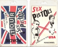 Sex Pistols, The - Tour Passes x 2