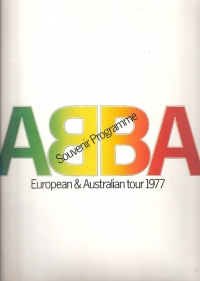 ABBA...European & Australian Tour Programme, 1977, UK