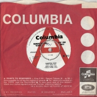 Mark Leeman Five - Forbidden Fruit/ Going To Bluesville 1966 original UK Demo issue on Columbia Records DB 7812, with the red 'A' demo