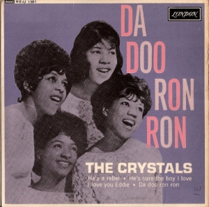 Crystals, The - Da Doo Ron Ron EP, [London Records RE-U 1381] original UK 1963, 4 track EP