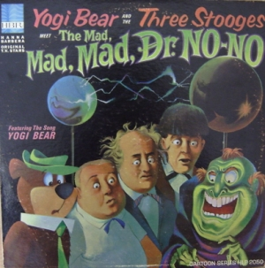 Soundtrack - Yogi Bear [US issue, 1966] Hanna-Barbera HLP-2050 Mono