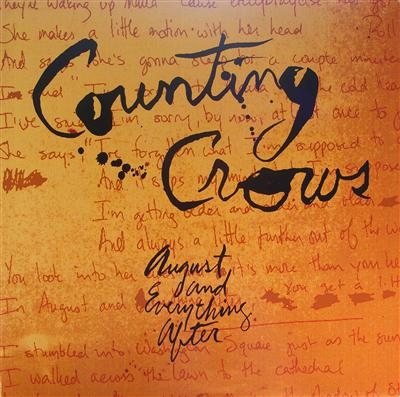 Counting Crows - August And Everything After, very rare debut album c/w inner sleeve and NM condition, stunning copy