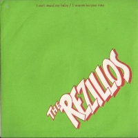 Rezillos, The - I Can't Stand My Baby/ I Wanna Be Your Man, [Sensible Records FAB 1], 1977 original 1st press UK release with numbered picture sleeve