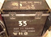 Who, The - Flight Case used by Kenny Jones on 1982 Tour