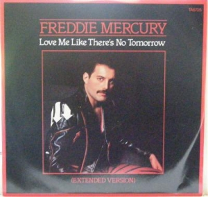 "Queen - Freddie Mercury - Love Me Like There's No Tomorrow, Rare UK original 12"" single c/w picture sleeve"
