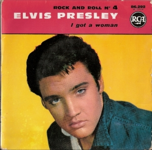 Presley, Elvis - Rock and Roll No. 4 EP - I Got A Woman, [RCA Records 86.292] French 60's EP c/w picture sleeve