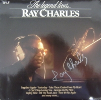 Charles, Ray - signed album