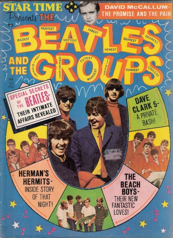 Beatles, The and the Groups.... US magazine dating from January 1966