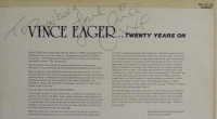 Eager, Vince - ....Twenty Years On [70's signed album]