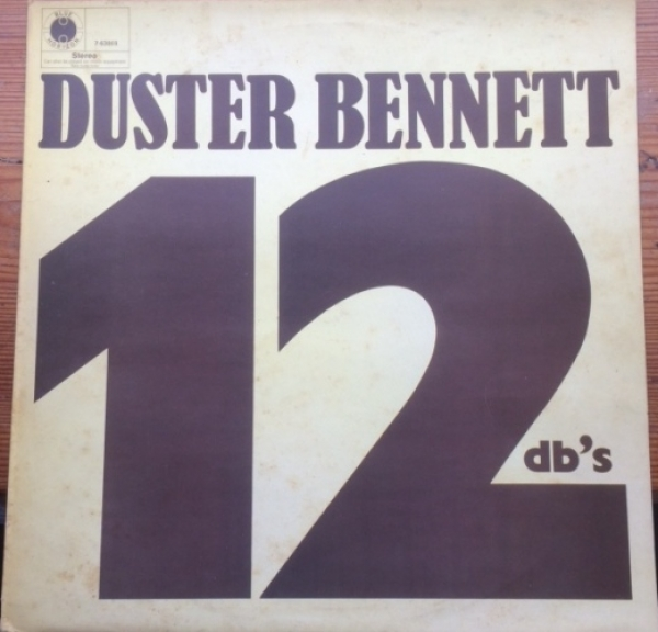 Bennett, Duster - 12 db's, 1970 UK pressing [Blue Horizon Records 7-63868]