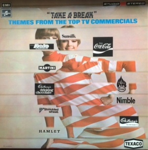 Take A Break - Themes From The Top TV Commercials [Columbia Records TWO 382], Stereo 1972, music sampler