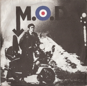 M.O.D. [David Essex] - M.O.D./ M.O.D. (2), [Vertigo Records 6059 233] UK 1979, c/w picture sleeve