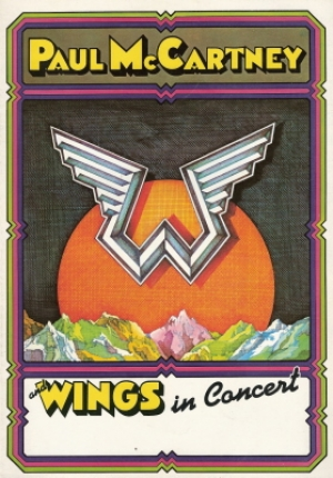 Beatles, The - Paul McCartney/ Wings - 1975 Tour Programme