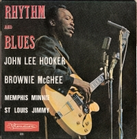 Hooker, John Lee and Others - Rhythm and Blues, 4 Track EP, [Visadisc Records T EP 231] France 1960's, c/w picture sleeve
