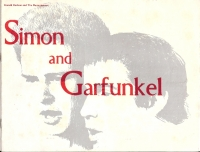 Simon and Garfunkal, original 1968 UK tour programme