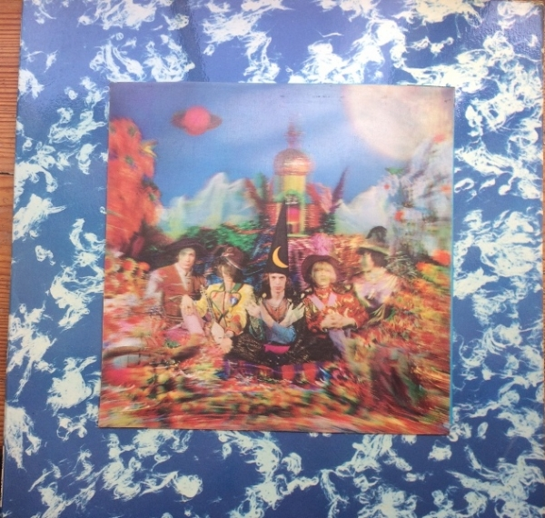 Rolling Stones, The - Their Satanic Majesties Request [Decca Records TXL 103] Mono 1967, UK original issue, 3D cover c/w red inner sleeve