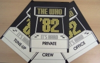 Who, The - Stage Door Signs  from 1982 UK tour