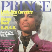 "Prince - Little Red Corvette - {full length version}/ Horny Toad/ D.M.S.R.], [12"" UK issue 1983]"