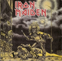 Iron Maiden- Sanctuary/ Drifter/ I've Got The Fire [EMI Records EMI 5065] 1980, original UK first press. Classic Iron Maiden/ BWOBHM number