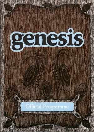 Genesis - 'European Tour', UK Concert Programme 1975 at Empire Pool, Wembley, London, c/w ticket stub and a three newspaper reviews