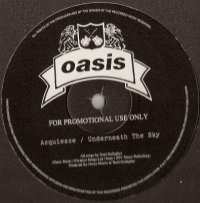 "Oasis - The Masterplan Sampler (Acquiesce/ Underneath The Sky/ I Am The Walrus/ The Masterplan), [Creation Records CRELP 241P] 1998, 12"" promo, mint/ unplayed"