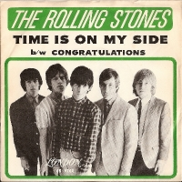 Rolling Stones, The - Time Is On My Side/ Congratulations original US London issue c/w rare picture sleeve