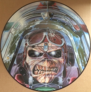 "Iron Maiden - Ace's High/ King Of Twilight/ The Number Of The Beast [EMI Records 12 EMI P 5502] 1984, UK issue, 12"" picture disc single"