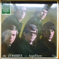 Zombies, The - Begin Here, [Repertoire Records REP 2205], mono 2013. reissue of this rare 1965 UK pressing