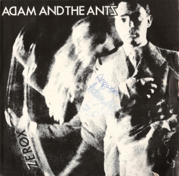 Adam and the Ants - signed 'Zerox' picture sleeve single