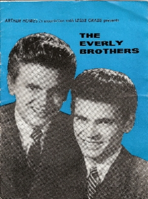 Everly Brothers, The - original October 1962 UK tour programme