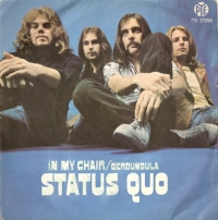STATUS QUO - In My Chair [Rare Picture Sleeve, Pye Records 1970]