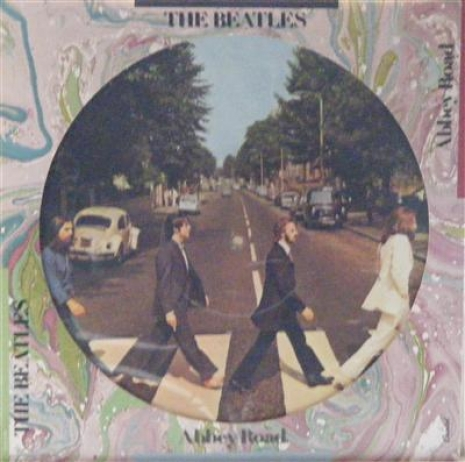Beatles, The - Abbey Road, US original 1978 picture disc release, c/w die-cut sleeve