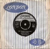"Soxx, Bobb B. and The Blue Jeans - Why Do Lovers Break Each Other's Heart?/ Dr. Kaplan's office, original UK 7"" single release on London Records HLU 9694 in 1963"