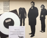 "Stranglers, The - Black and White [United Artists UAK 30222] original UK issue, 1978, c/w free 7"" white vinyl single and rare insert"