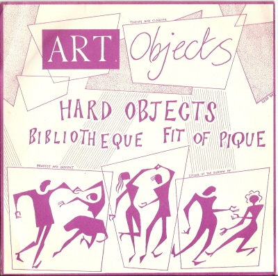 "Art Objects - Hard Objects [7"" UK single] signed copy"