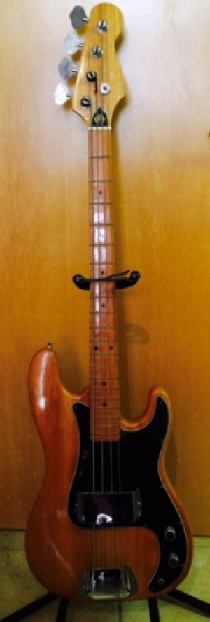 Instrument - Bass Guitar Kay, model number KB-24, Fender Precision bass style and looks