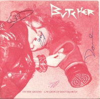 "Butcher - On The Ground [7"" UK single] Signed copy"