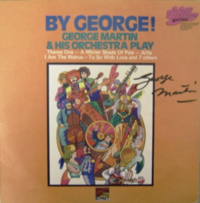 Beatles, The - George Martin signed album 'By George!'